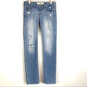 Hollister women's Skinny Jeans Size 1R Distressed